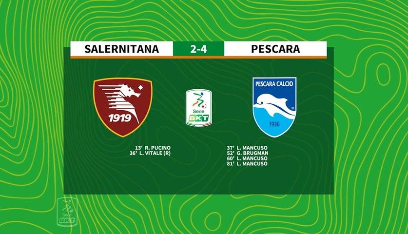 HIGHLIGHTS #SalernitanaPescara 2-4 #SerieBKT
