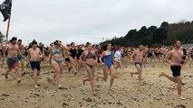 Un bain dans la Manche à 8 degrés