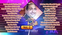 Best of Mohammed Rafi - Volume 2   Mohammed Rafi Hits   Evergreen Classic Songs  Old Hindi Hits