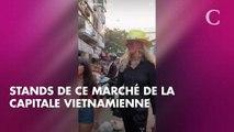 PHOTOS. Laeticia Hallyday radieuse avec Jade et Joy lors d'une balade au Vietnam