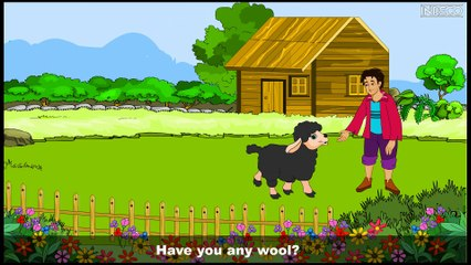 Nursery Rhyme | Baa-baa Black Sheep | Sujatha | English Children Song