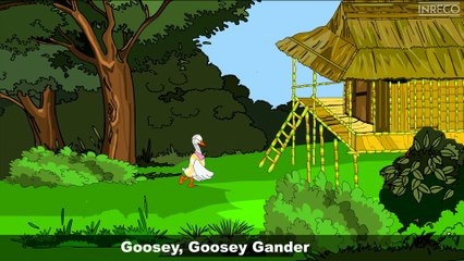 Nursery Rhymes | Goosey Goosey Gander | Sujatha | English Children Song