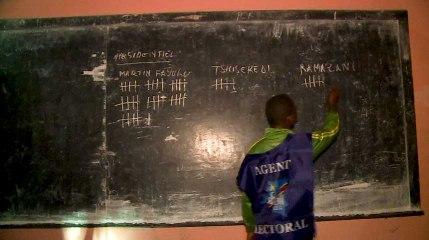 Elections en RDC: dépouillement des votes à Kinshasa