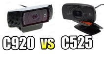 Выбор вебкамеры Сравнение Logitech HD Pro C920 и Logitech HD C525 [Пример Видео]