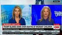 Donald Trump blames DEMS over deaths of migrant children. #DEMS #DonaldTrump #News #CNN