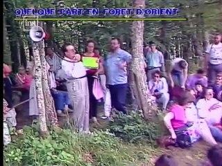 Jimmy Guieu : rassemblement à Dolancourt (1989) / Forêt d'Orient