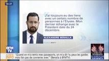 Alexandre Benalla confie à BFMTV que son dernier échange avec le Président date du 24 décembre