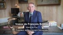 Vœux de François Bayrou pour l'année 2019