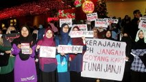 PAS Youth holds rally to protest high cost of living