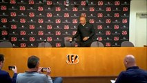 Marvin Lewis speaks after being fired by the Bengals