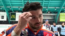 Hockey sur glace Interview Antoine VIGIER 2018-12-22 - Capitaine des Sangliers Arvernes Clermont VS Villard de Lans Division 2