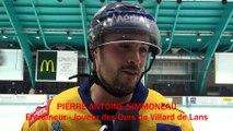 Hockey sur glace 2018-12-22 Pierre Antoine Simmoneau, Entraîneur Joueur des Ours de Villard de Lans