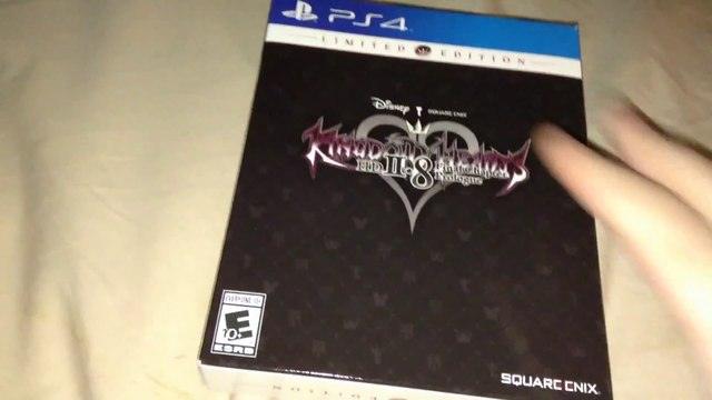 Kingdom Hearts HD 2.8 (II.8): Final Chapter Prologue (PS4) Special Edition Unboxing