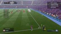 BARCELONA FC VS paris saint germain,PARTIDO DE FUTBOL FIFA,NIVEL LEGEND 1L-0PC,GOLES,goal highlights