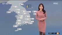 [날씨] 추위 계속…오전 중서부 미세먼지↑