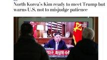 美, 신중 반응...언론, 북미대화 의지 속 '美 오판' 경고 주목 / YTN