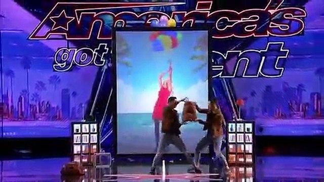 DOUBLE MAGIC! Twin Magicians Amaze on America s Got Talent   Magicians Got Talent