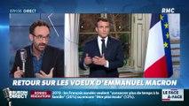 Bouchet-Petersen : Retour sur les vœux d'Emmanuel Macron - 01/01