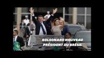 Jair Bolsonaro intronisé président du Brésil à Brasilia