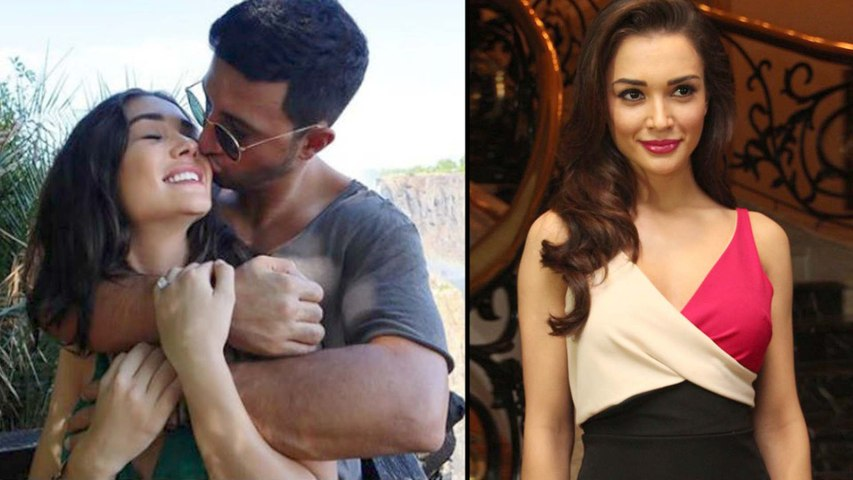 Amy Jackson Gets Engaged To Her Boy Friend George Panayiotou On Jan 1