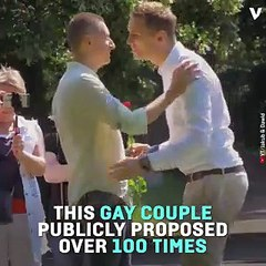 Gay Couple Proposes Publicly 100 Times In Social Experiment About Gay Marriage Attitudes In Poland