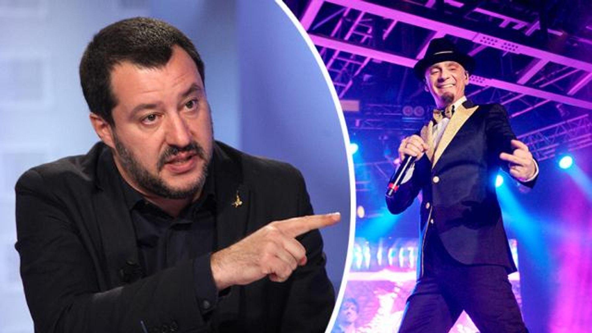 È guerra tra Matteo Salvini e JAX? Volano parole grosse tra il politico e il rapper sui social