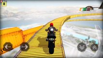 Bike Stunts Extreme Challenge 2019 - Motor Bike Stunts Games - Android Gameplay FHD #2