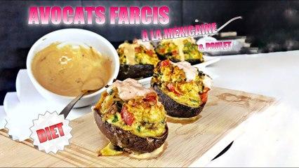 Recette Avocat Farcis à la Mexicaine - DIET