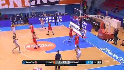 7Days EuroCup Highlights Top 16, Round 1: Cedevita 81-87 Andorra