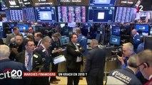 Marchés financiers : un krach boursier en approche pour 2019 ?