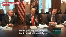 President Trump Calls Syria 'Sand And Death': 'We're Not Talking About Vast Wealth'