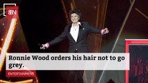 Rolling Stoner Ronnie Wood Isn't Going Grey
