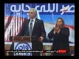 رانيا بدوى تعليقا على تصريحات حمدين صباحى لبرنامجة الإنتخابى: يجب إحترام قانون الإنتخابات الرئاسية