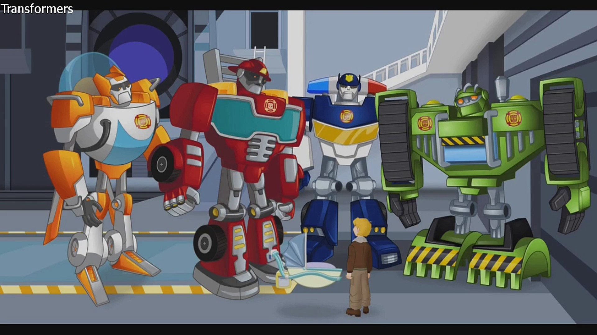Transformers Rescue Bots - S01E08 - Four Bots And A Baby
