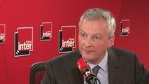 """Bruno Le Maire, après l'arrestation du leader des gilets jaunes, Eric Drouet : """"La meilleure façon de défendre le peuple, c'est de respecter l'ordre"""""""