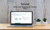 Tutoriel Chorus Pro V2 - Gérer les factures de travaux pour les MOE