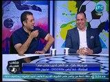 مشادة كلامية بين أحمد الخضري وصحفي بالأهرام بسبب أسبقية الحديث