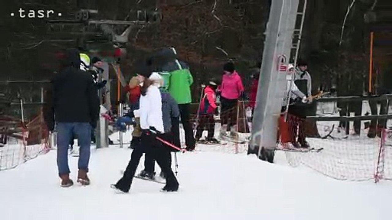 Prázdninová lyžovačka na Jahodnej pri Košiciach