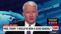 CNN Host Anderson Cooper Mocks 'The World Will Never Know General Trump'