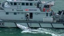 Bootsflüchtlinge im Ärmelkanal: Mutmaßliche Schleuser festgenommen