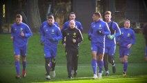 Extraits de l'entraînement, à la veille de FC Nantes - Châteauroux