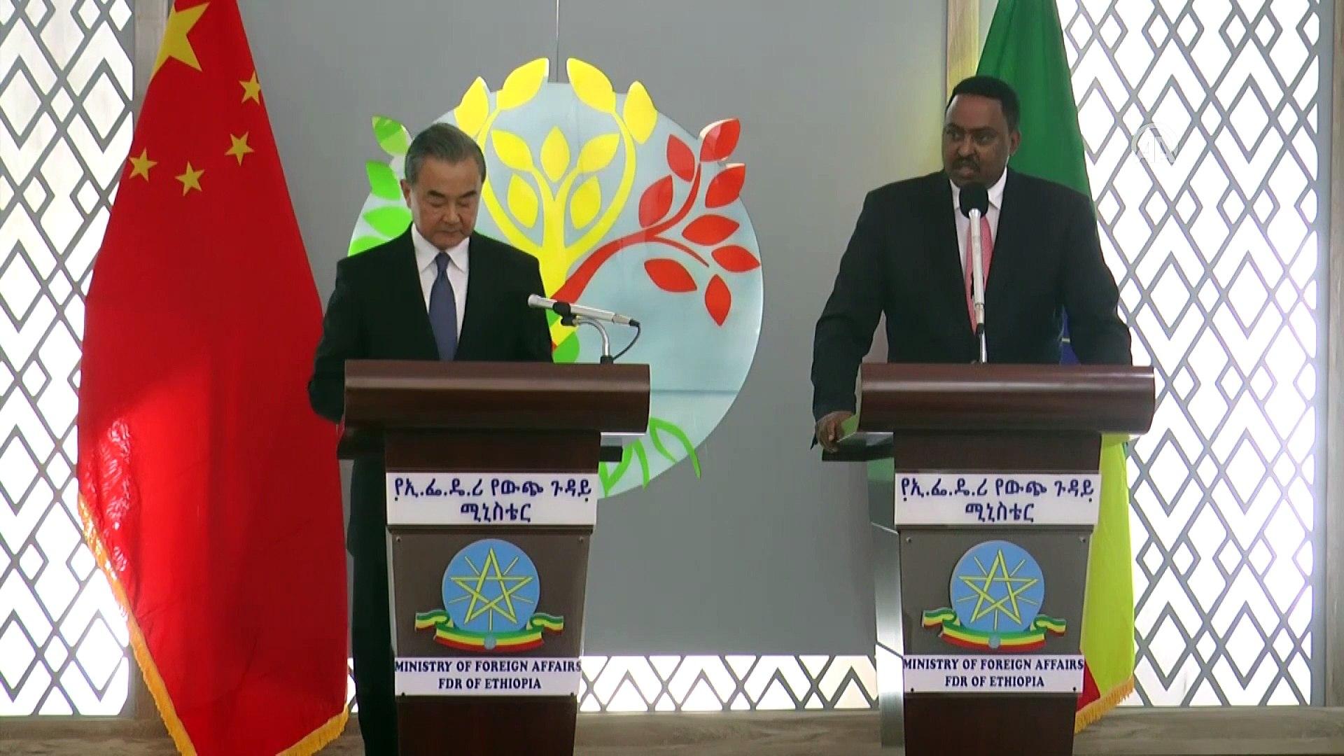 'Çin Afrika ülkelerine desteğini sürdürecek' - ADDİS ABABA