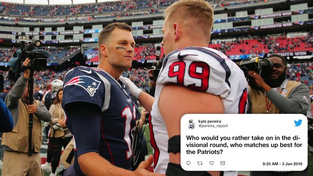 Patriots Mailbag: Who Would The Patriots Rather Face In The Divisional Round?
