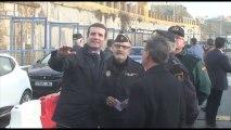 Pablo Casado transmite su apoyo a los agentes destinados en frontera de Ceuta