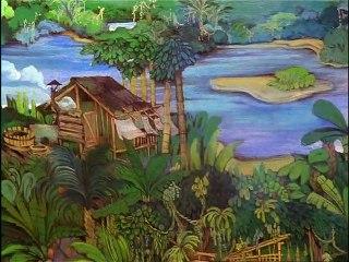 Drei Dschungeldetektive  E01 - Der Kartenklau geht um