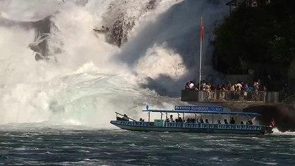Schweiz – am größten Wasserfall Europas