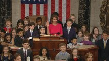 Nancy Pelosi swears in new members of most diverse Congress ever
