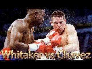 Pernell Whitaker vs Julio Cesar Chavez (Highlights)