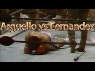 Alexis Arguello vs Jose Fernandez (Highlights)