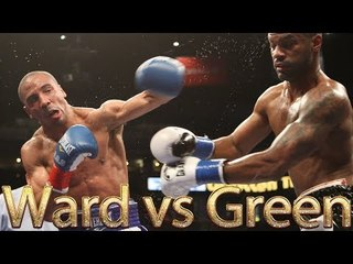 Andre Ward vs Allan Green (Highlights)